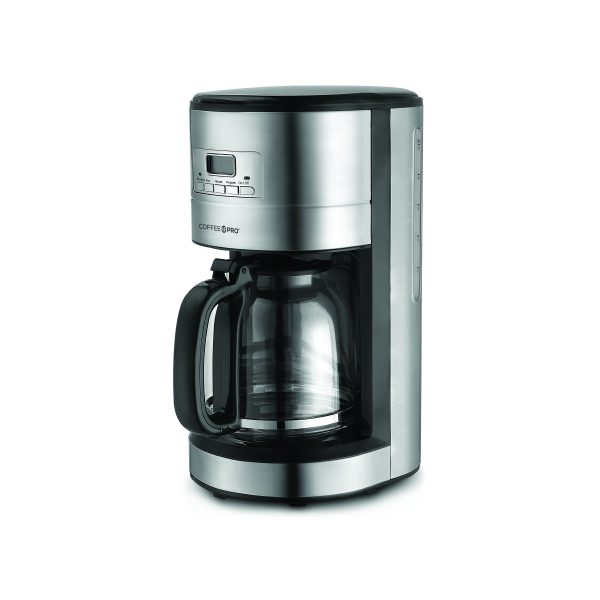Coffee Maker Stainless Steel Cone Style 12 Cup 4cs Each