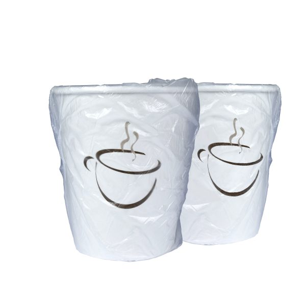 Single Wall Hot Cup Generic Wrapped 9oz