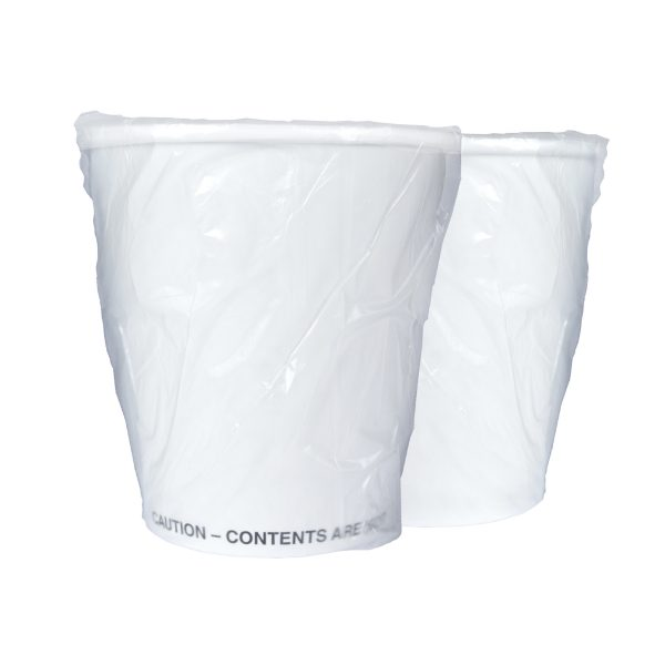 Single Wall Hot Paper Cup Generic Wrapped FSC 10oz