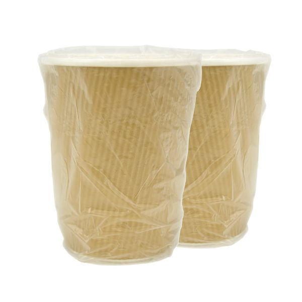 Ripple Cup Generic Wrapped 12oz PBS 500cs