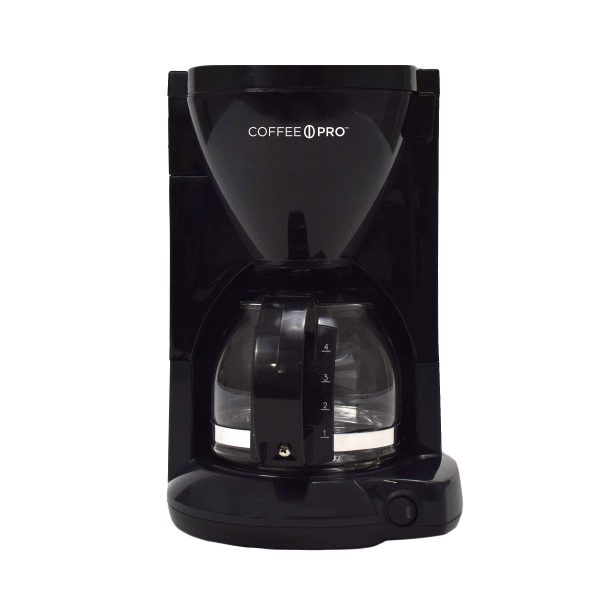 Coffee Maker Black 4 Cup 6cs Each