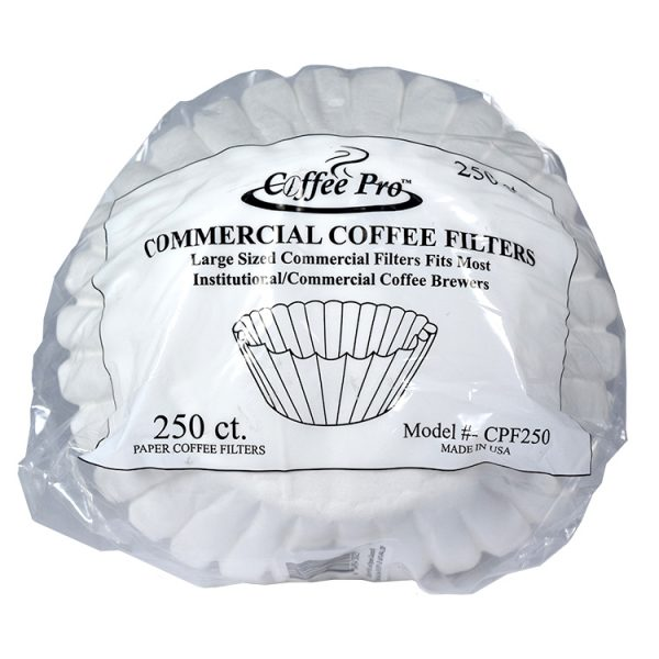 Coffee Filter Commercial Size 250cs