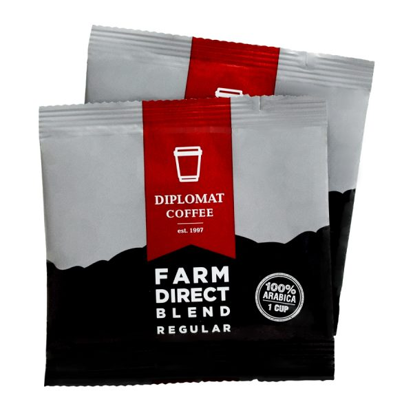 Farm Direct Blend Diplomat  Regular Coffee 1 Cup