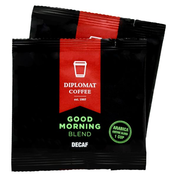Good Morning Blend Diplomat Decaf Coffee 1 Cup