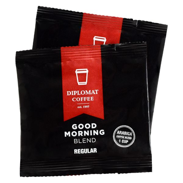 Good Morning Blend Diplomat Regular Coffee 1 Cup