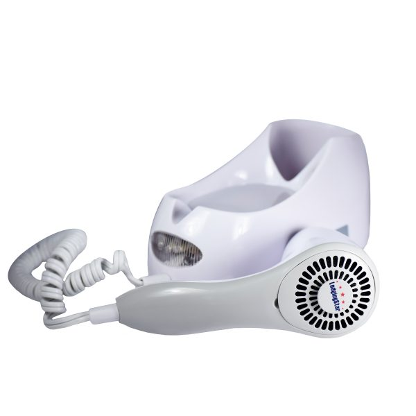 Wall Mount Hair Dryer 2 Spd 1500 W Nightlight Auto Off Each 10cs