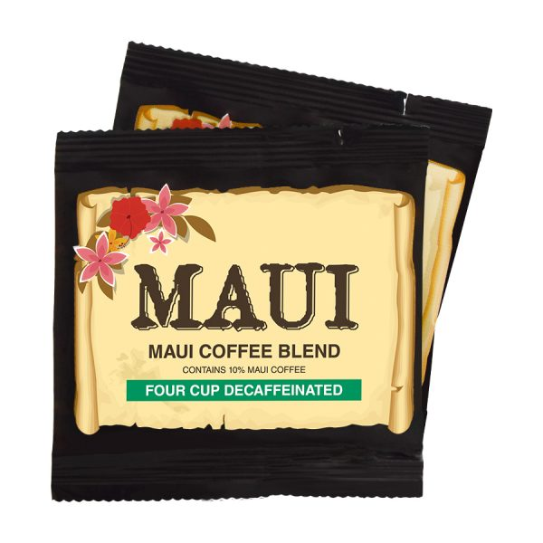 Maui Hawaii Blend Decaf Coffee 4 Cups
