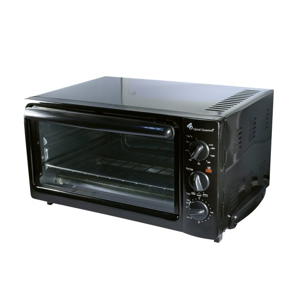 Toaster Oven Black 2cs Each