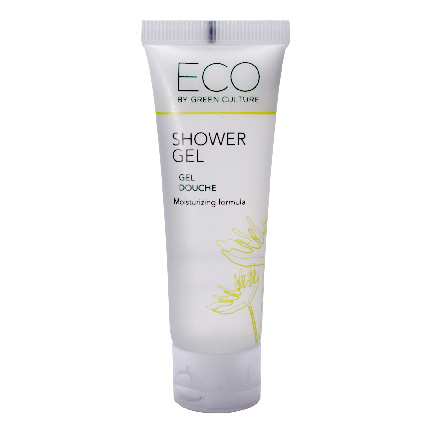Shower Gel Tube Eco by Green Culture 30ml 288cs