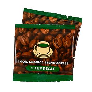 100% Arabica Blend Decaf Coffee Packets