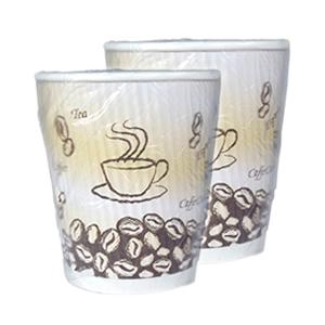 Ripple Cup Generic Kraft Wrapped 9oz