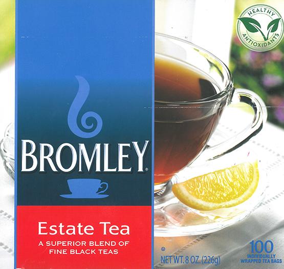 Tea Bromley Estate Premium Blend 10 Boxes 100cs