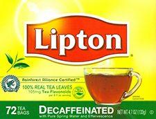 Decaf Tea Bags Lipton 432cs