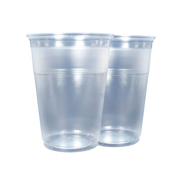 Plastic PP Cups Unwrapped 10oz