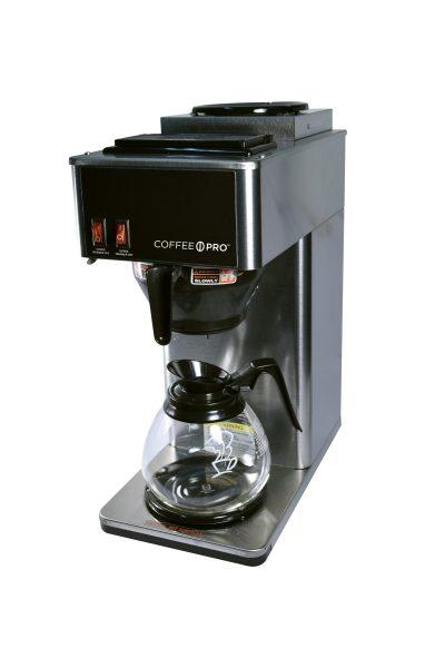 Coffee Maker Stainless Steel Commercial 2 Burner 1cs