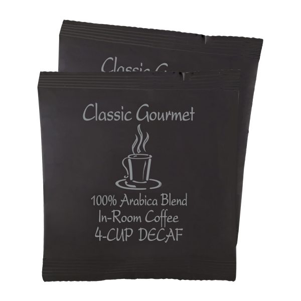 Classic Gourmet Decaf Coffee 4 Cups