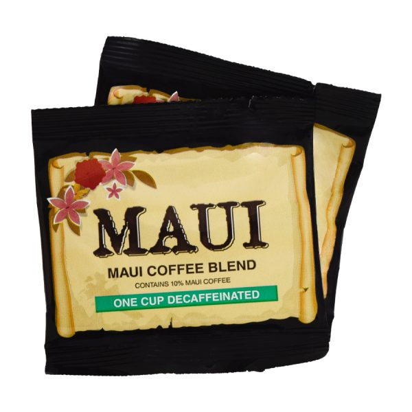 Maui Hawaii Blend Decaf Coffee 1 Cup