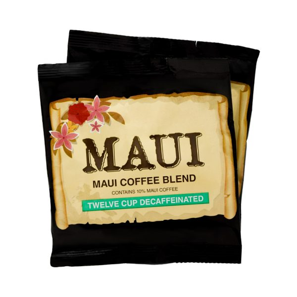 Maui Hawaii Blend Decaf Coffee 12 Cups