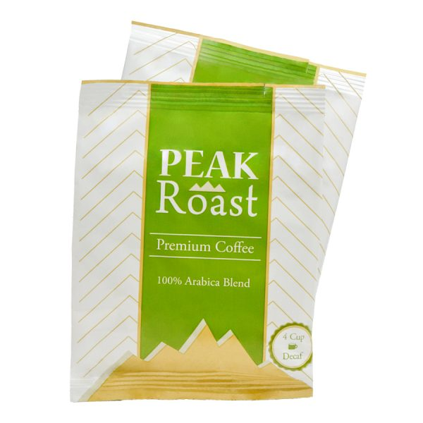 Peak Roast Decaf Coffee 4 Cups
