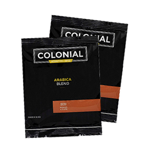 Colonial Arabica Blend 4-Cup Decaf Coffee Packets