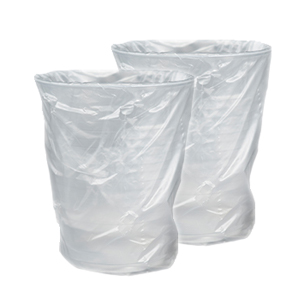 Plastic PP Cups Individually Wrapped 9oz