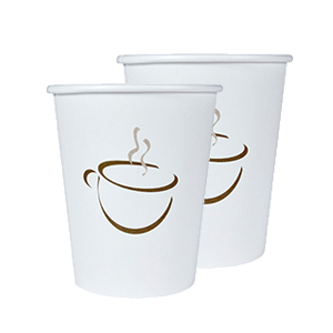 Single Wall Hot Cup Generic Unwrapped 9oz